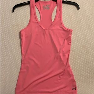 under armour workout fitted tank